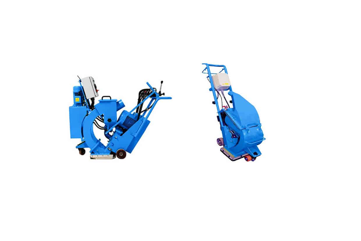 Airblast Floor Blasting Machines