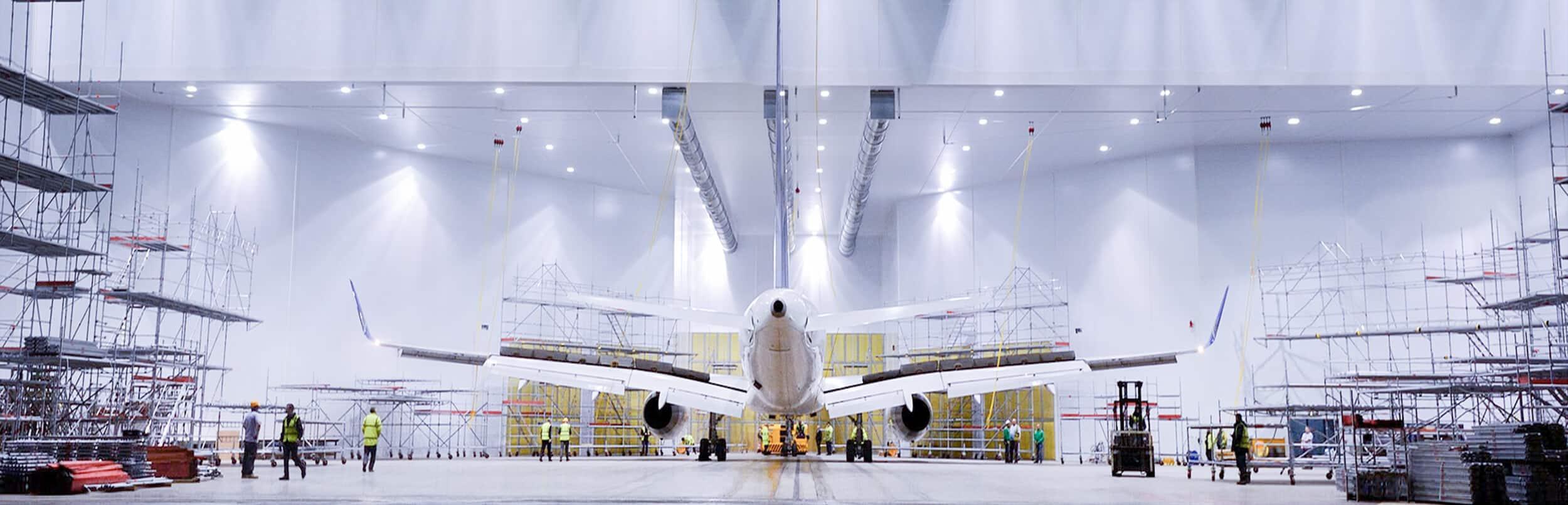 Airblast Spray Booths for Aerospace