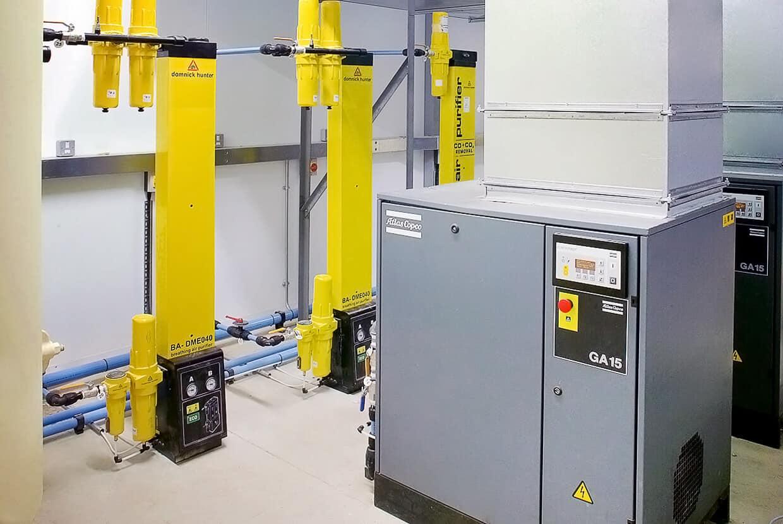 Airblast Compressed Air Plant Audit