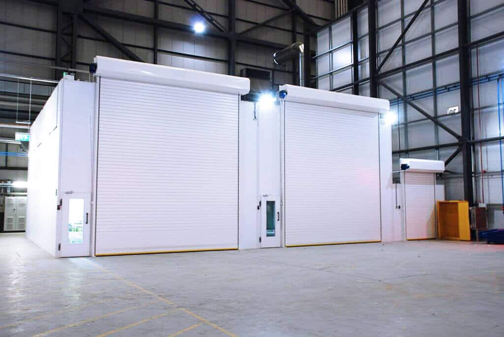 Airblast Spray Painting Booths