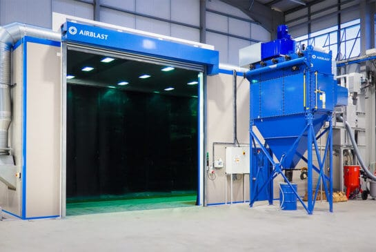 Blast Rooms - Surface Preparation and Finishing | Airblast
