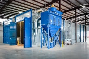 Airblast Blast Room Dust Extraction