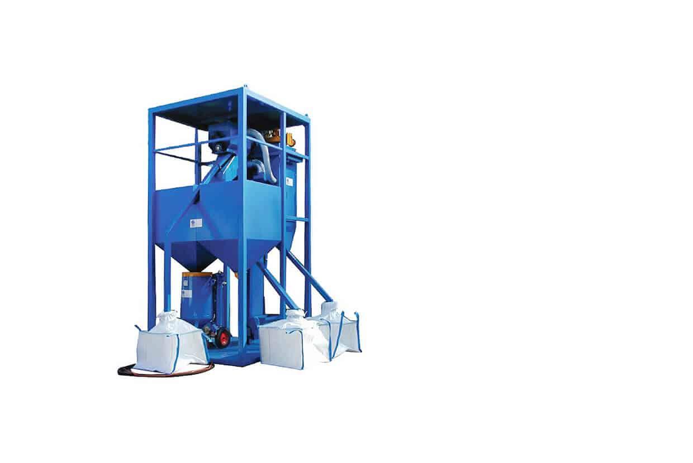Airblast Portable Garnet Recycler