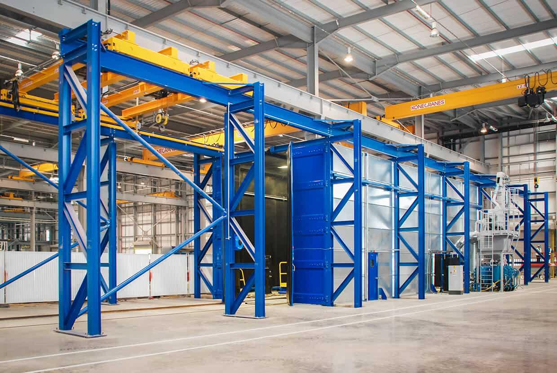Airblast Modular Blast Room