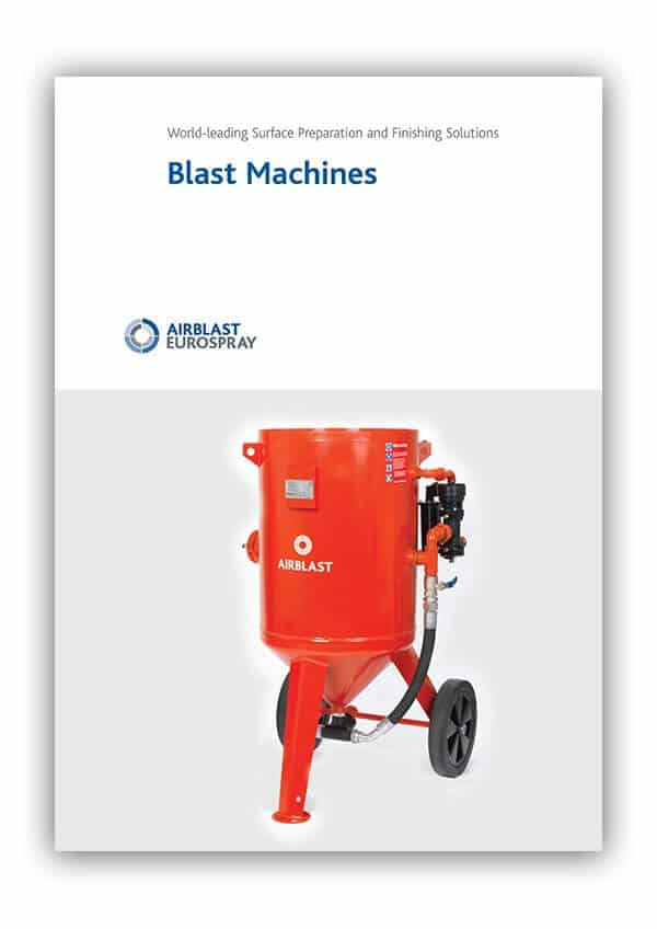 Airblast Blast Machines Product Brochure