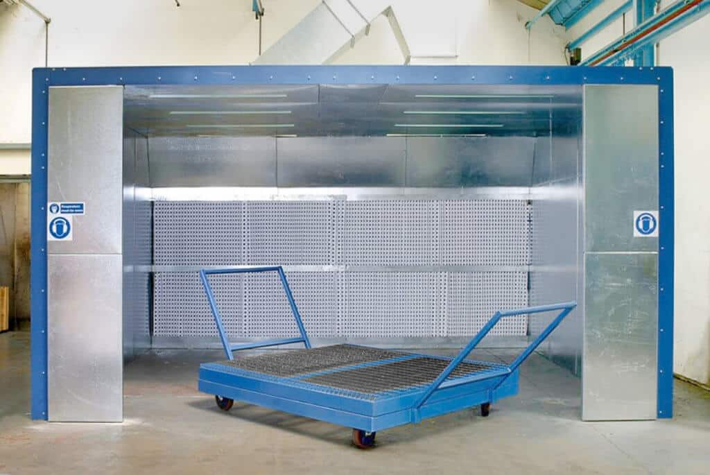 Airblast Eurospray Dry Filter Spray Booth